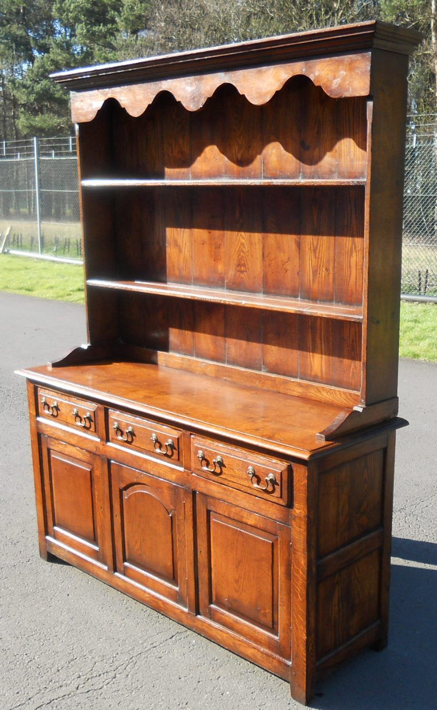 Quality Large Oak Welsh Dresser